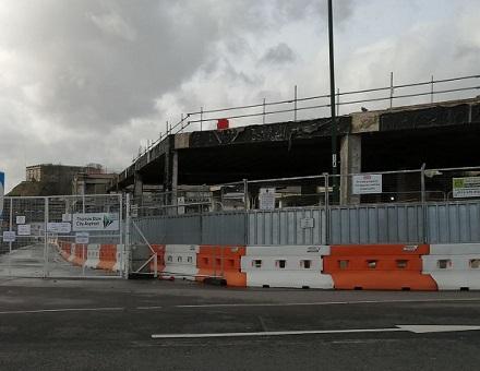Turning shopping centres into parkland